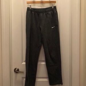 Gray Nike sweatpants !!!!